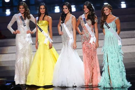 sushmita sen evening gown sashes and tiaras miss universe 2013 evening gown