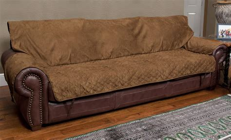 leather sofa protector sofa full coverage protector cocoa