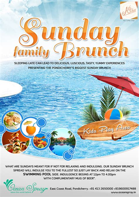 Swimming Pool Sunday sunday brunch with swimming pool pondicherryevents