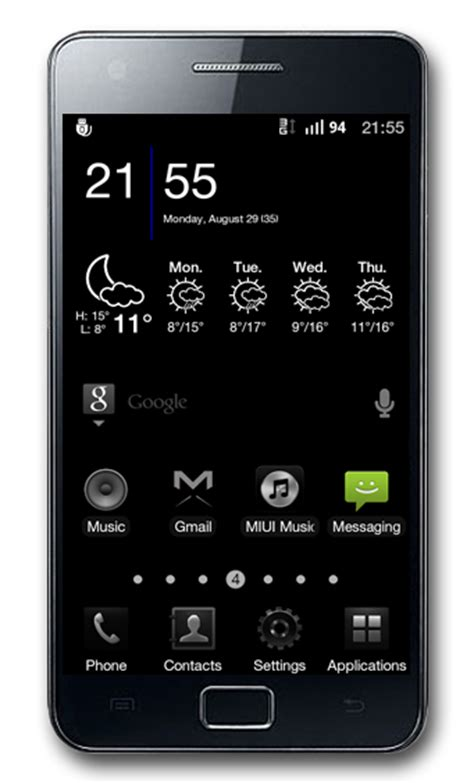black themes for android theme black android theme v2 5 2 live all samsung galaxy s ii i9100