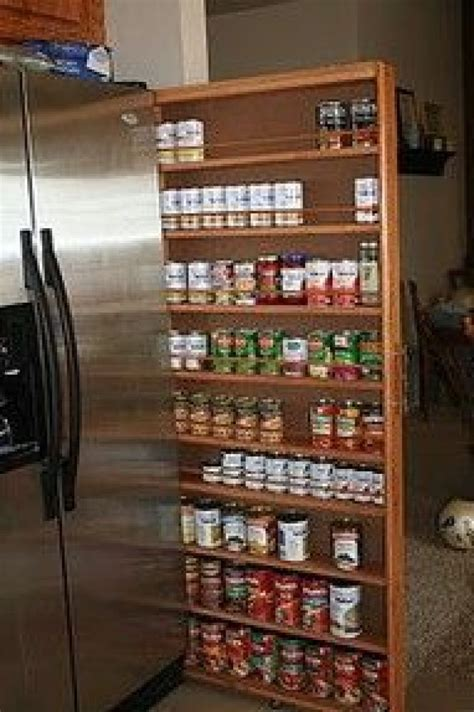 narrow kitchen pantry cabinet 29 insanely clever kitchen ideas