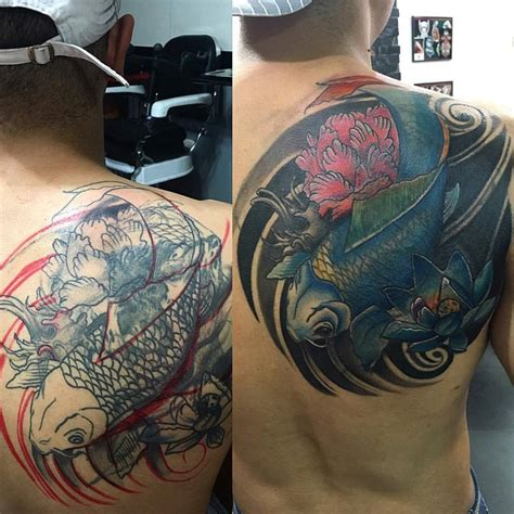 koi fish back tattoo designs 30 koi fish designs with meanings