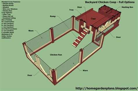New Plan Topic Plans For Large Chicken Coop Chicken House Blueprints Free