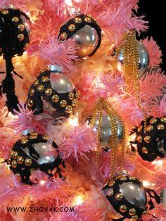 1000 images about pink and black christmas on pinterest