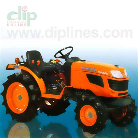 Mesin Pemipil Jagung Kubota dip mini traktor kubota b2420