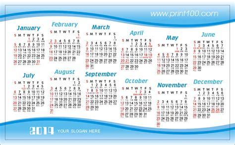 calendar card layout business card name card art paper matt lamination