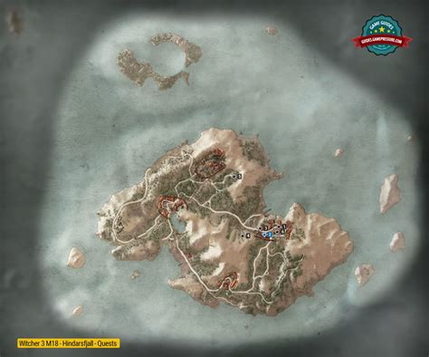 the witcher 3 wild hunt skellige main quests the king map of quests in hindarsfjall m18 the witcher 3 wild