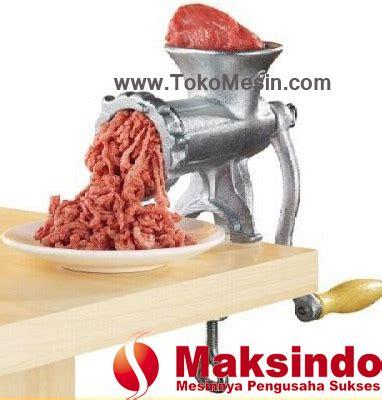 Penggiling Daging Dan Sayuran Manual alat giling daging manual iron toko mesin maksindo toko mesin maksindo