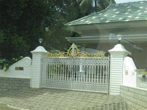 kerala home gates design colour different gate design kerala gate designs white gate for white color house in