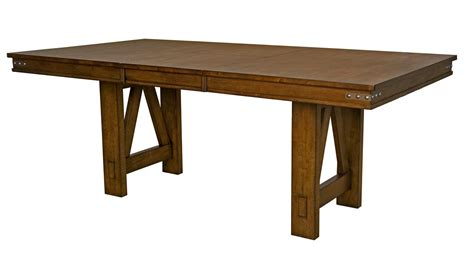 pieces included in this set a america eastwood 9 piece trestle dining room set w