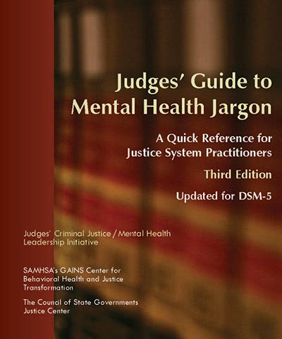 mental hospital survival guide 3rd edition how to protect yourself and others from abuse books judges guide to mental health jargon third edition