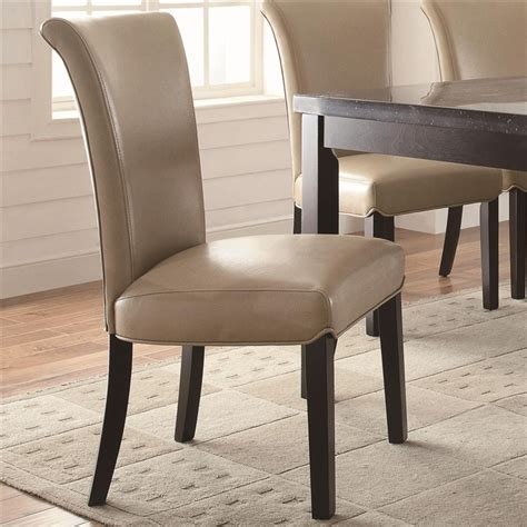 Taupe Dining Chair Newbridge Casual Taupe Dining Chair Coaster 102883 Set Of 2