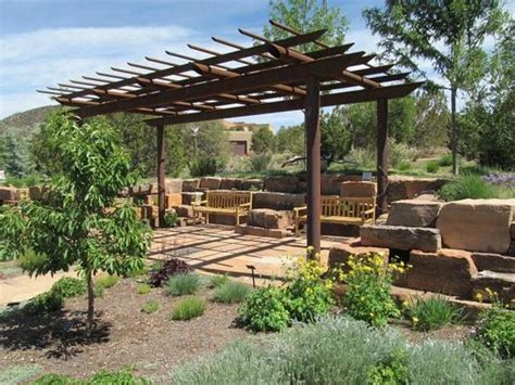 Ramada Picture Of Santa Fe Botanical Garden Santa Fe Santa Fe Botanical Garden