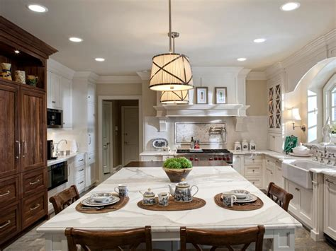 lighting a kitchen island photos hgtv