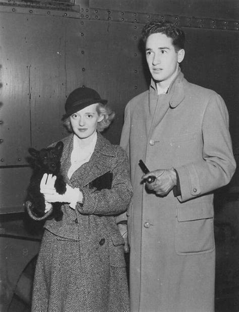 bette davis spouse bette davis with first husband harmon o quot ham quot nelson
