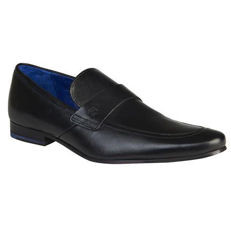 ted baker fotiu black slip on shoe in black for lyst