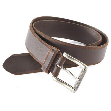 aquarius genuine leather belt with beveled edge 625858