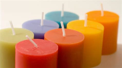 Colored Candles Candles Amazing Do White Candles Burn Faster Than Colored