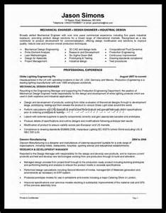 Hvac Resume Exles by Hvac Manager Resume Exles Document