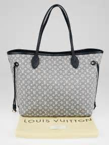 louis vuitton encre monogram idylle neverfull mm bag