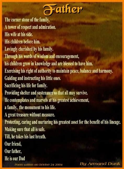 poem  fathers day pictures   images