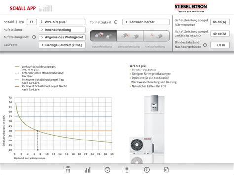 layout app ipad stiebel eltron schall app sebastian molzahn