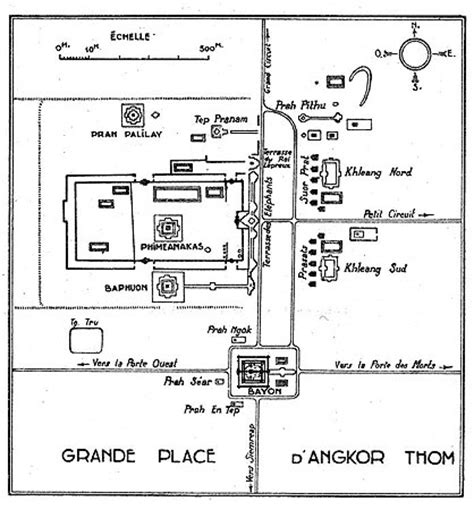 angkor wat floor plan angkor illustrations 28 80 plan of angkor thom