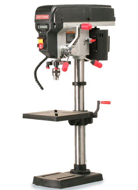 best woodworking drill press craftsman 21914 benchtop drill press finewoodworking