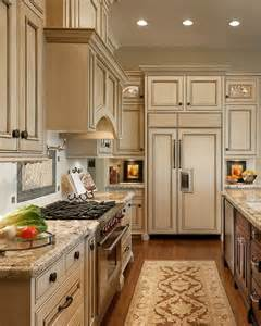 Light Kitchen Cabinets Cream Cabinets With Light Countertops Amp A Dark Center
