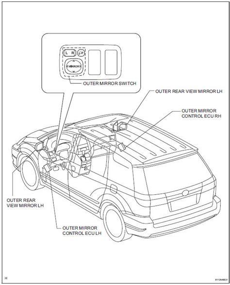 book repair manual 2000 toyota sienna parental controls toyota part diagram mirror wiring diagram