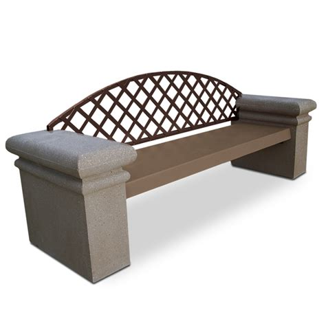 concrete bench ends 7 concrete bench with pedestal ends benches upbeat com