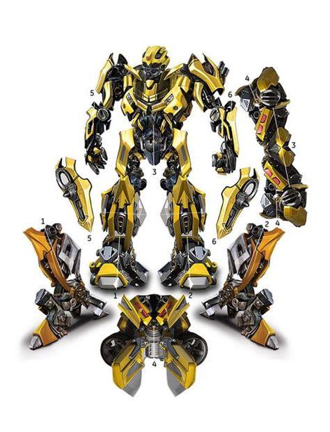 Papercraft Transformers Bumblebee - bumblebee papercraft by rexxkentrix on deviantart