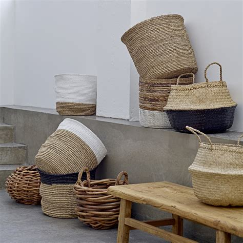 seagrass basket  bloomingville connox