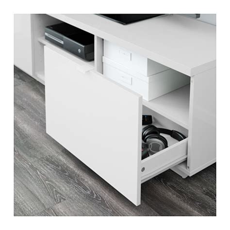 white gloss tv bench by 197 s tv bench high gloss white 160x42x45 cm ikea