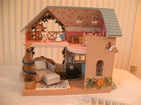 sylvanian families decorated bluebell cottage ebay sylvanian families sylvanian families