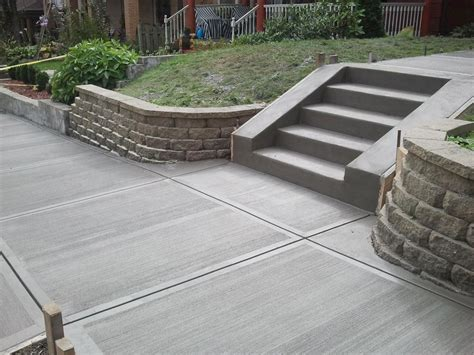 how much does it cost to landscape a backyard how much does it cost to fix a concrete sidewalk angie s