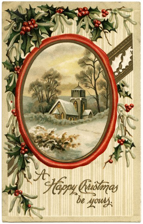 christmas evening country church scene  design shop blog