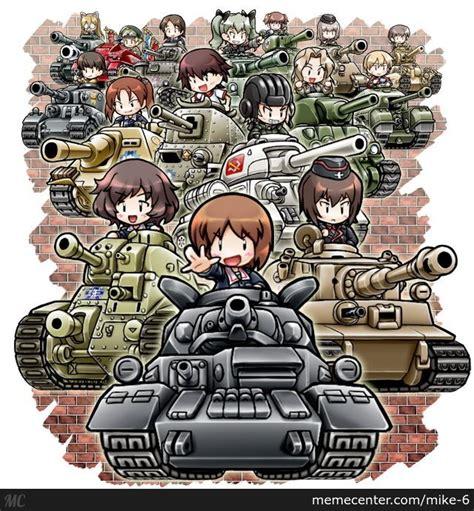 Girls Und Panzer Meme - girls und panzer by recyclebin meme center