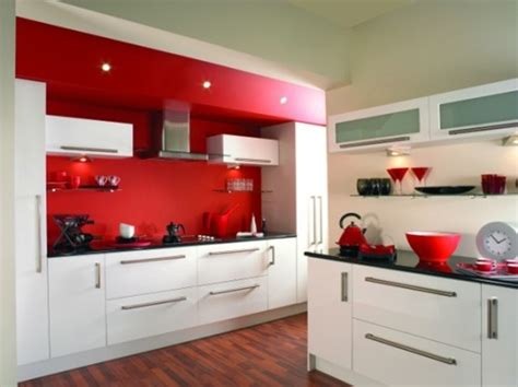 red and white kitchens ideas 15 cocinas modernas con gabinetes color blanco