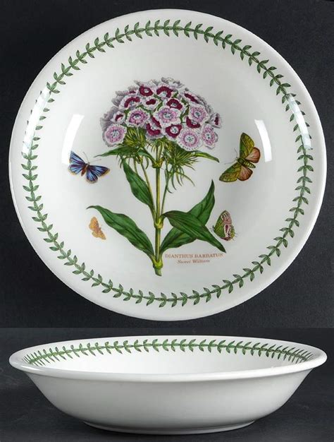Portmeirion Botanic Garden Pasta Bowls Portmeirion Botanic Garden Sweet William Pasta Bowl 5654671 Ebay