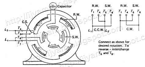 ac motor start capacitor wiring diagram m550 gear wiring