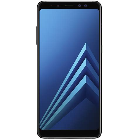 Samsung A8 Ram 4gb Mobile Phones Galaxy A8 2018 Dual Sim 64gb Lte 4g Black