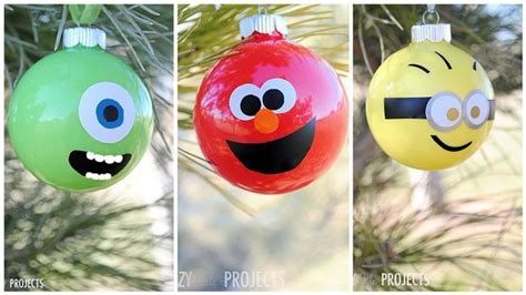 diy fun character ornaments diply
