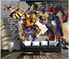 Transformers Wall Mural popular transformers wall murals buy cheap transformers