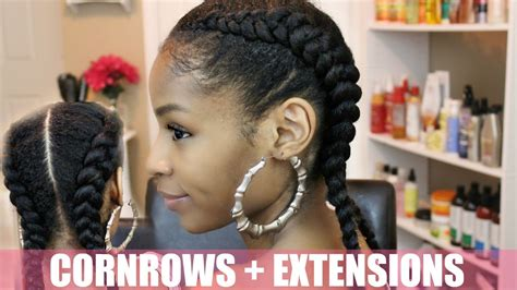 2 braids with weave 2 cornrows with weave cornrow braid