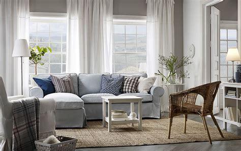 Ikea Ektorp Recamiere by Ein Helles Wohnzimmmer Mit Ektorp 2er Sofa Und R 233 Camiere