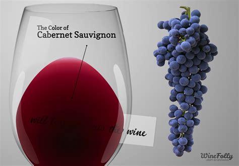 cabernet color the guide to cabernet sauvignon wine wine folly