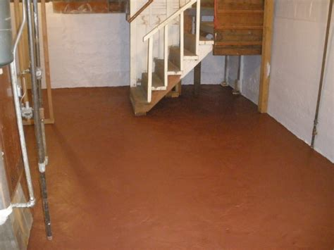 waterproof basement floor coating basement