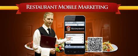 mobile marketing for restaurants restaurant mobile marketing mobile website design
