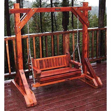 dc 6 swing porch swing frame plan 16258ez porch swing project